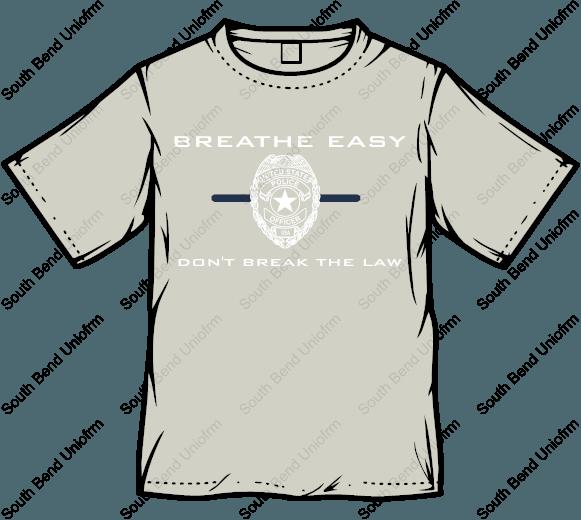 Breathe Easy™ T-Shirt - Gray