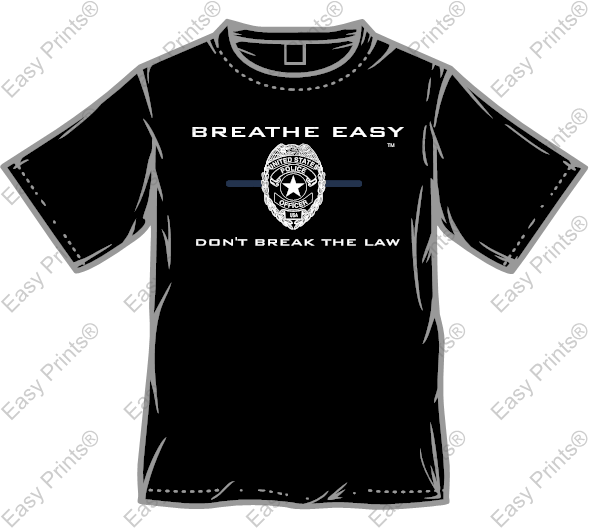 Breathe Easy™ T-Shirt - Black
