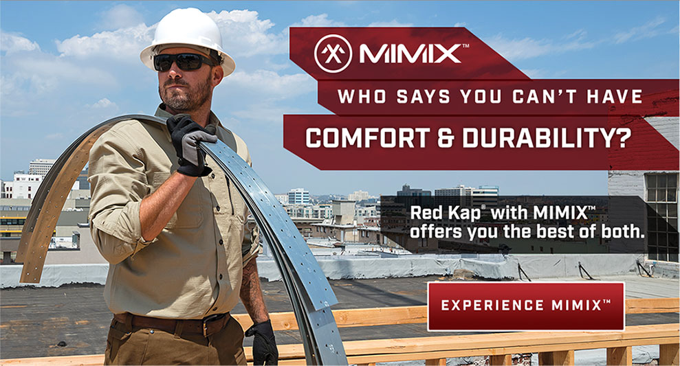 MIMIX Construction Clothes with Comfort & Durability