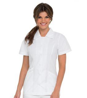 Landau Women's White Tailored Tunic