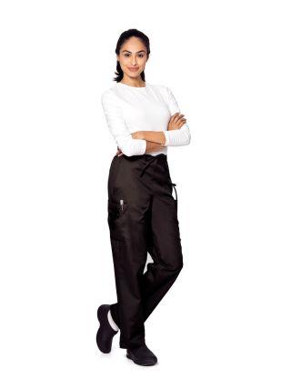 Landau Essentials Women's Cargo Drawstring Pant