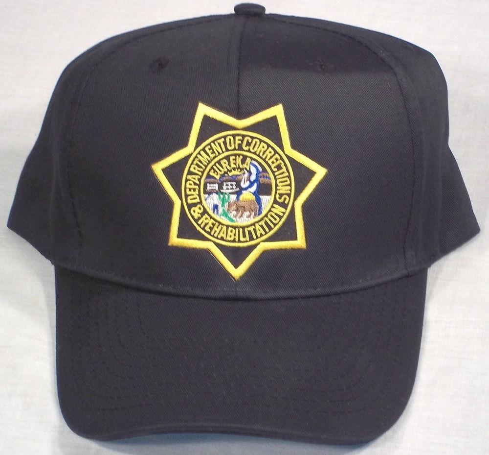 Baseball hat for CDCR