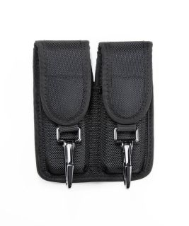 Double Magazine Pouch w/2 Clips - Medium