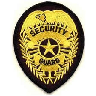 3716 Security Guard - Med Gold/Black