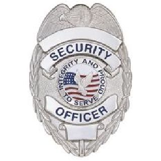Security Ofcr - Oval w/Integrity- Traditional - Nickel