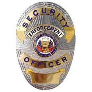 Security Enforcement Officer (Lapd Style) - Traditional - Gold