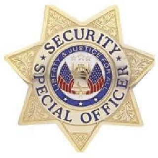 Security Special Ofcr. - Star - Traditional - Nickel