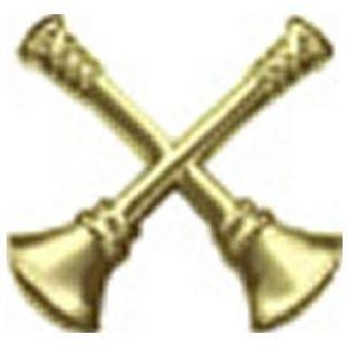 Pairs - Fire Bugles - 2 Bugles Crossed - 2 Clutch - Gold