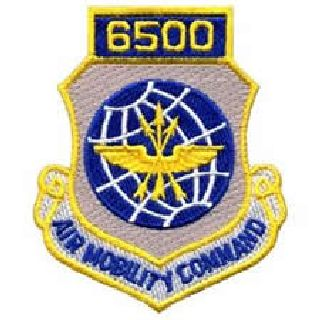 """6500 Air Mobility Command - w/Hook - 3 X 3-1/2"""""""
