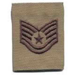 Each - Gortex Rank Insignia - Tsgt - Desert