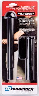 AutoLock-22 w/45° Basketweave Holder, Hindi Baton Cap With Foam Grip