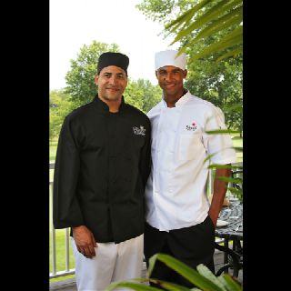 C550 Keep Kool Mesh Back Chef Coats - Full Sleeve & Half Sleeves