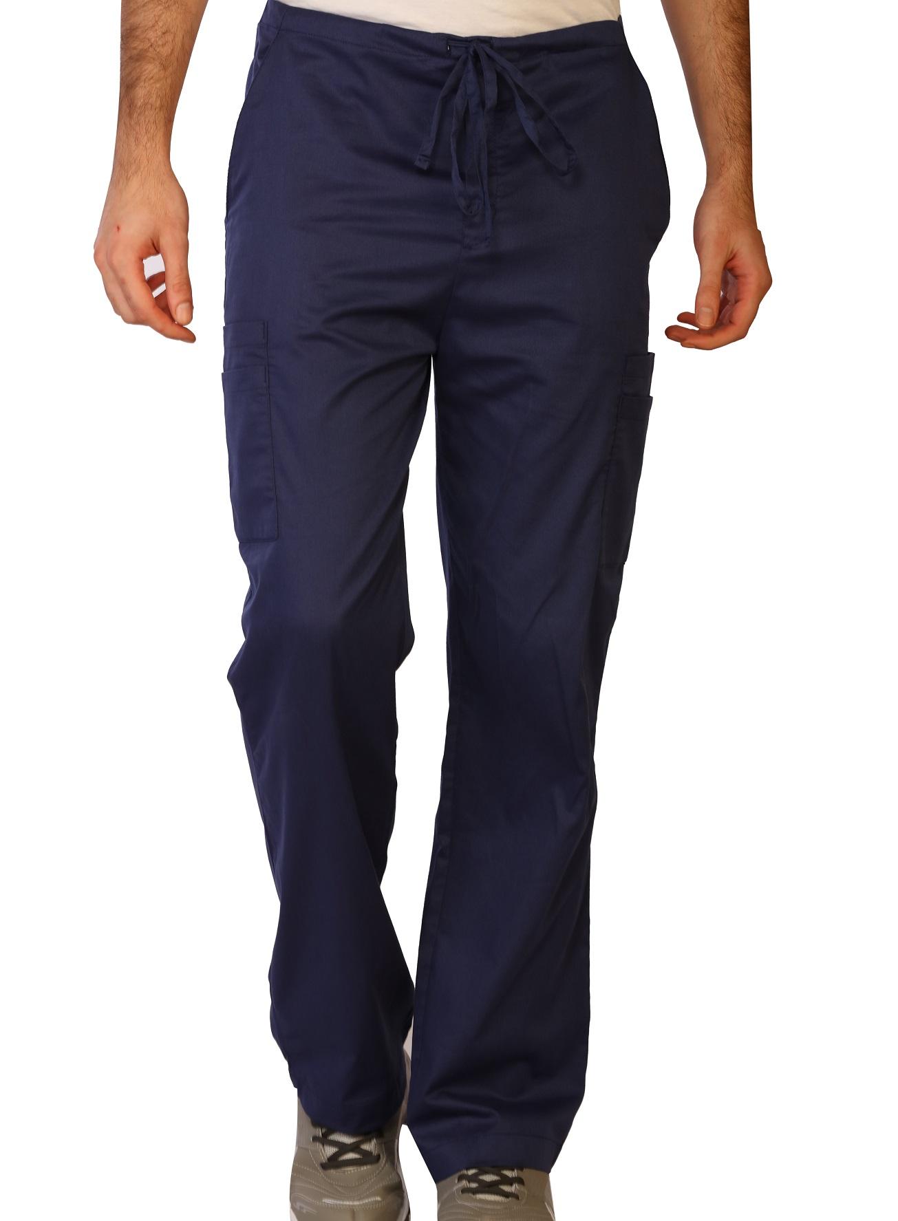 Men's Stretch Double Cargo Scrub Pants, LifeThreads Contego Collection