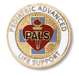 Pediatric Advanced Life Support Pin