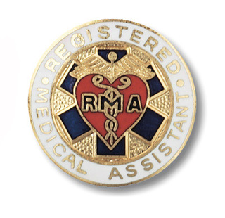 Registered Medical Assistant Pin