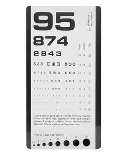 Pocket Eye Chart