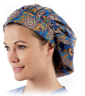Bouffant Scrub Caps (Assorted Prints)
