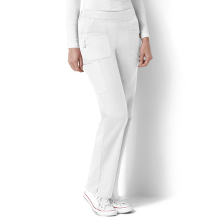 Flat Front and Back Elastic Pant