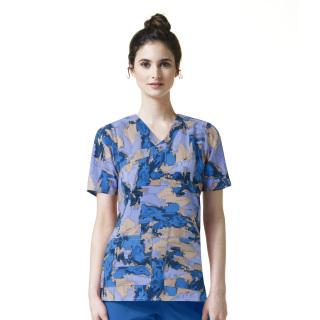 C12214 Printed Y-Nk Fashion Top