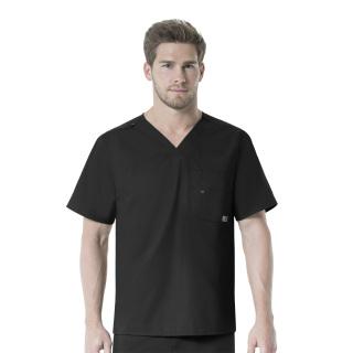 Men's V-Neck Multi-Pocket Top