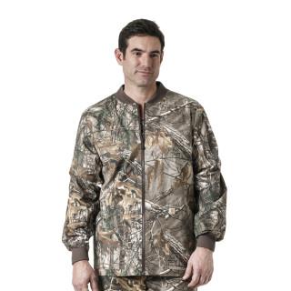 Men's Zip Front Print Jacket