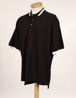 Teammate-60/40 Pique Pocketed Golf Shirt With Trim