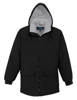 Woodsman-Nylon Hooded Parka With Fleece Lining