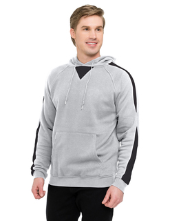Assist-Men's 60% Cotton 40% Polyester Pullover Ultra Cool Sweat Shirt With Hood