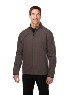 Overland-Men's Bonded Zip Jacket w/Tmp Smoky Zip Pull, Two Pocket With Snap Closure,