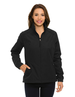 Radian-Women's 65% Polyester 35% Cotton Full Zip Jacket