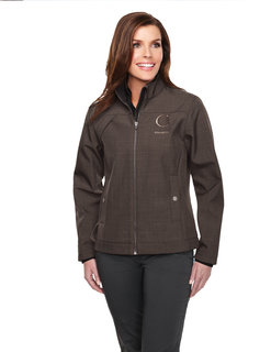 Oakbrook-Women's Bonded Zip Jacket w/Tmp Smoky Zip Pull, Two Pocket With Snap Closure,
