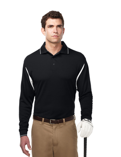 Action Long Sleeve-Men's 100% Polyester Waffle Knit