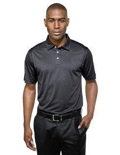Gallant-Men's 5 Oz 100% Polyester Heather Jersey Polo