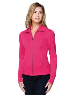 Anna-Women's 10 Oz. 60% Cotton/40% Polyester Fleece Full-Zip Jacket