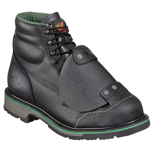 "6"" Plain Toe - External Metatarsal - Safety Toe"