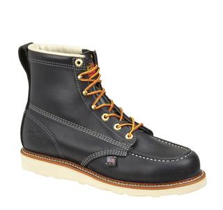 "814-6201 6"" Black Moc Toe Non-Safety"