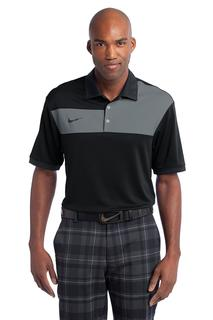 Nike Golf Dri-FIT Sport Colorblock Polo.