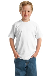 Hanes® - Youth EcoSmart® 50/50 Cotton/Poly T-Shirt.