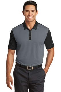 Nike Golf Dri-FIT Colorblock Icon Modern Fit Polo.