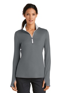 Nike Golf Ladies Dri-FIT Stretch 1/2-Zip Cover-Up.
