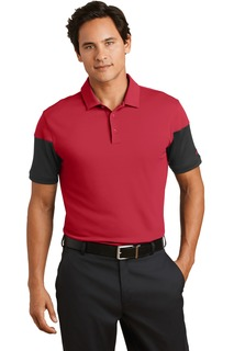 Nike Golf Dri-FIT Sleeve Colorblock Modern Fit Polo.