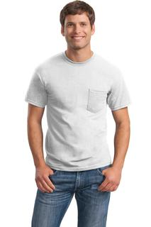 Gildan® - DryBlend® 50 Cotton/50 Poly Pocket T-Shirt.
