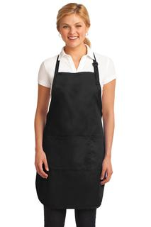 Port Authority® Easy Care Full-Length Apron with Stain Release.
