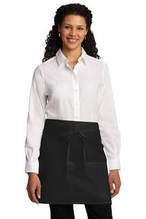 Port Authority® Easy Care Half Bistro Apron with Stain Release.
