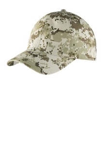 Port Authority® Digital Ripstop Camouflage Cap.