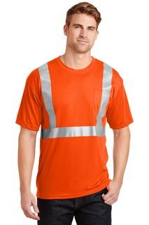 CornerStone® - ANSI 107 Class 2 Safety T-Shirt.
