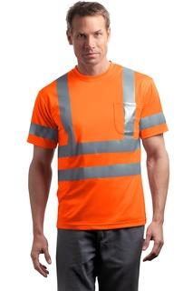 CornerStone® - ANSI 107 Class 3 Short Sleeve Snag-Resistant Reflective T-Shirt.