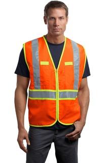 CornerStone® - ANSI 107 Class 2 Dual-Color Safety Vest.