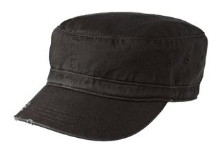 District® - Distressed Military Hat.