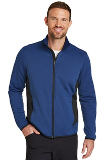 Eddie Bauer® Full-Zip Heather Stretch Fleece Jacket.